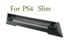 1pc Für ps4 slim Vertikalen Ständer Dock Montieren Supporter Basis Halter Cradle für Sony PS4 Slim Konsole Schwarz 340x72x15mm