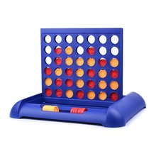 Connect Four In A Row 4 In A Line Educational Toys Family Travel Fun Board Game
