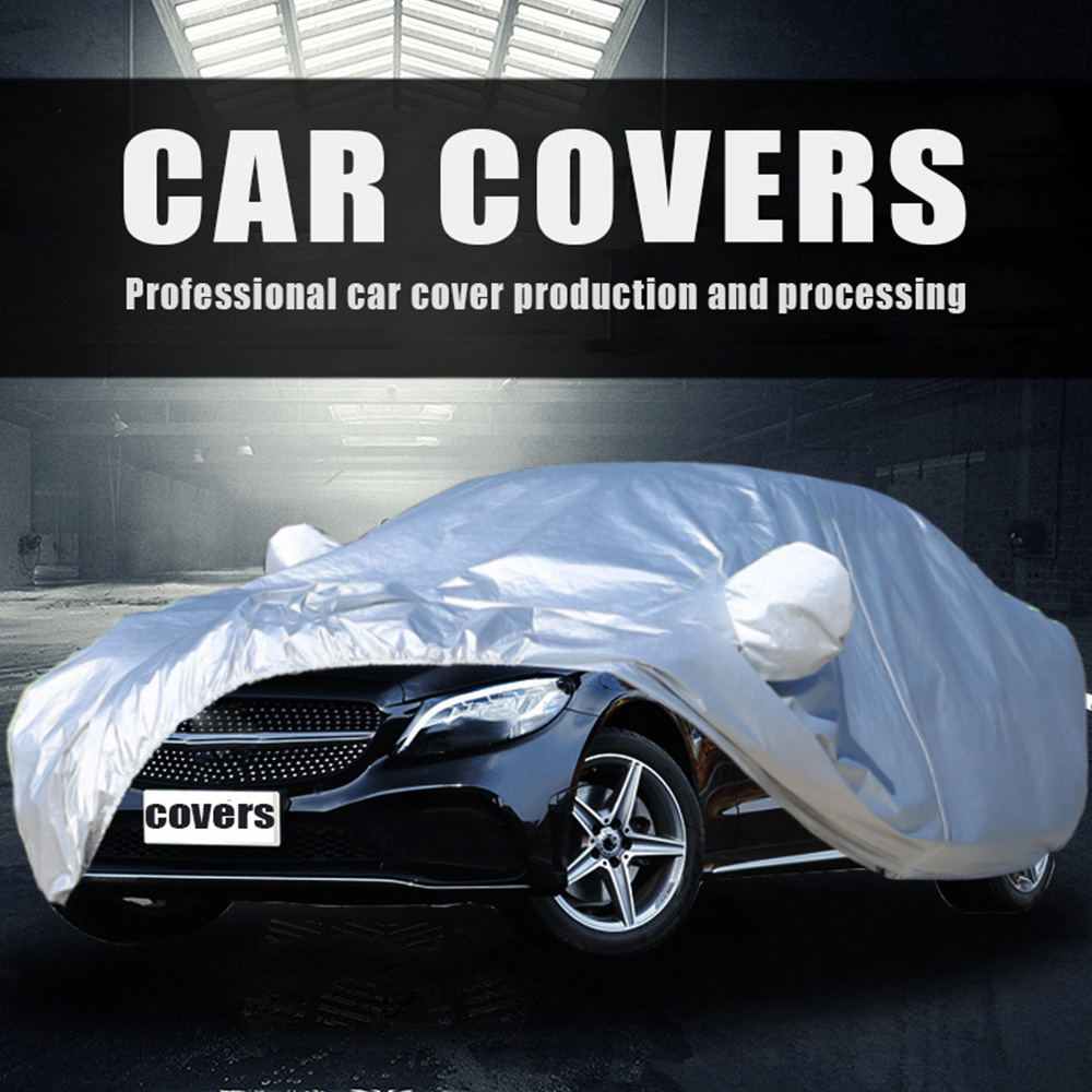 Universal Car Cover waterproof Light capa para carro Size S-XXL Auto Car Outdoor Protector Cover car Full coverage