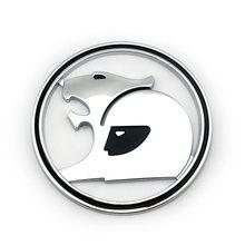 Badge autocollant rond avec emblème pour voiture Holden HSV, 1 pièce de 69MM de diamètre, noir chromé rouge