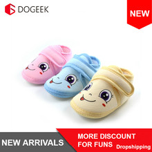 DOGEEK Winter Cute Baby Shoes Warm Cribe Shoes