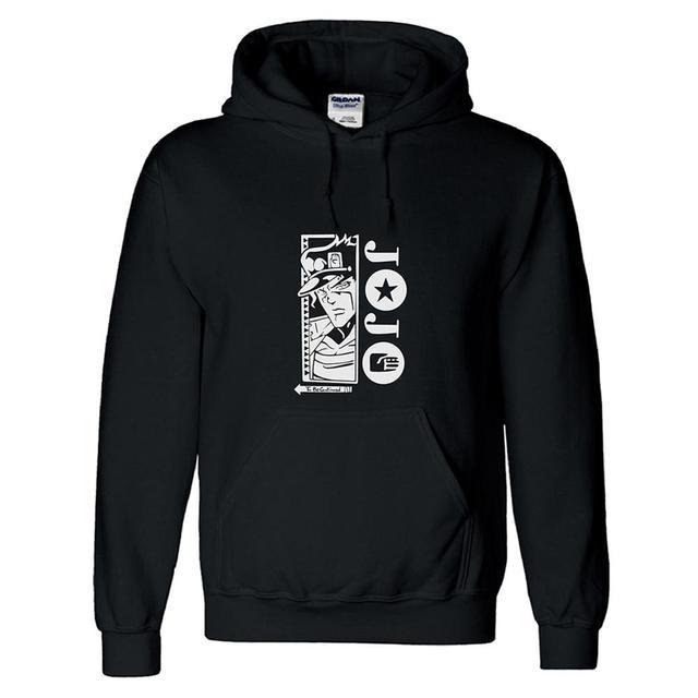JoJo's Bizarre Adventure Cosplay Kujo Jotaro Hoodie Sweatshirt Pullover Unisex Streetwear Casual Jacket Coat