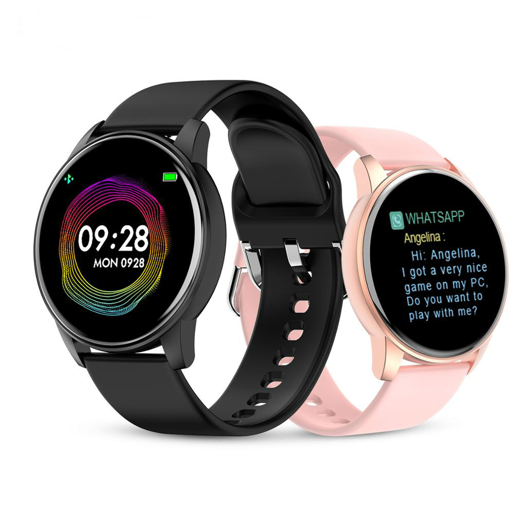2020 <font><b>Q5</b></font> Heart Rate Blood Pressure Oxygen Smart <font><b>Watch</b></font> Men and Women IP67 Waterproof Sports Path Weather Forecast SmartWatch image