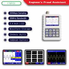 FNIRSI-2031H 2.4-inch Screen Digital Oscilloscope 200MS/s Sampling Rate 30MHz Analog Bandwidth Support Waveform Storage - DISCOUNT ITEM  5% OFF All Category