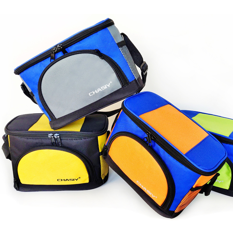 5L Cooler Bag Waterproof Oxford Insulated Shoulder Bags Picnic Beach Drink Bottle Cans Food Thermal Bag