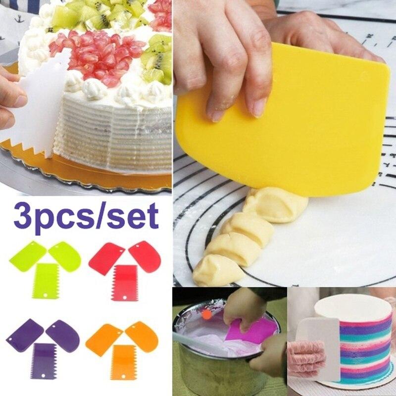 20Pcs Portable Cake Baking Set Baking Pastry Accessories Cooking Scraper Tools