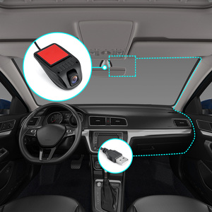 Image 5 - جهاز تسجيل فيديو رقمي للسيارات صغير كاميرا بـ USB داشكام كامل HD مسجل فيديو G الاستشعار للرؤية الليلية كاميرا عدادات السيارة لنظام أندرويد USB DVR