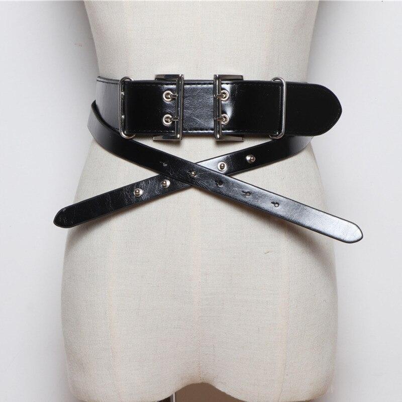 LANMREM 2020 Concave Shape Original Design Imported Hardware Wild Fashion Pure Color Belt Various Wear Law Belt PC208