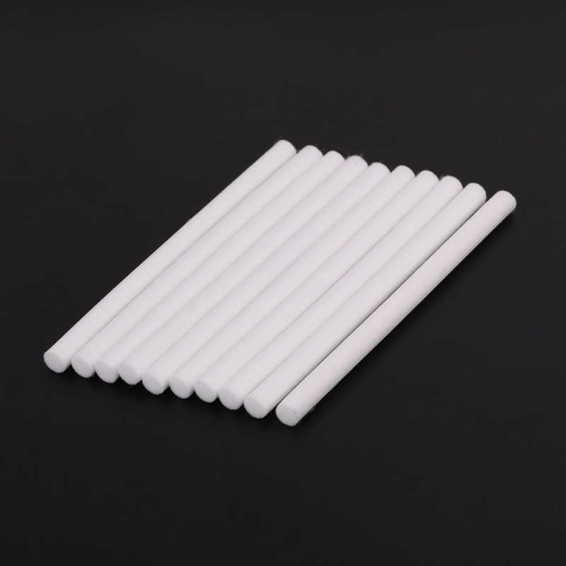 10 Pcs 8*130 Mm Humidifier Filter Kapas untuk USB Air Humidifier Ultrasonik