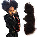 Afro Kinky Krullend Bundels Braziliaanse Hair Weave Bundels 100% Remy Human Hair Extensions Natuurlijke Kleur 8 28 Inch Dubbele inslag