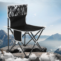 Lightweight Heavy Duty Foldable Beach Chair Fold Up Fishing Picnic Chair Portable Outdoor Folding Camping Chair Seat Furniture
