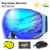 Blue goggles set