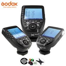 Godox XPro-C XPro-N XPro-S XPro-O XPro-F XPro-P ttl передатчик 2,4G HSS вспышка триггер для Canon Nikon sony Olympus Fuji Pentax