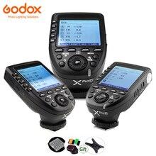 Godox xpro c xpro n xpro s xpro o xpro f xpro p ttl transmissor 2.4g gatilho flash hss para canon, nikon, sony, olympus, fuji pentax