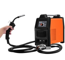 NBC-270 gaz de dioxyde de carbone blindé machine de soudage dispositif semi-automatique tout-en-un petit deux machine de soudage 220V ménage ai
