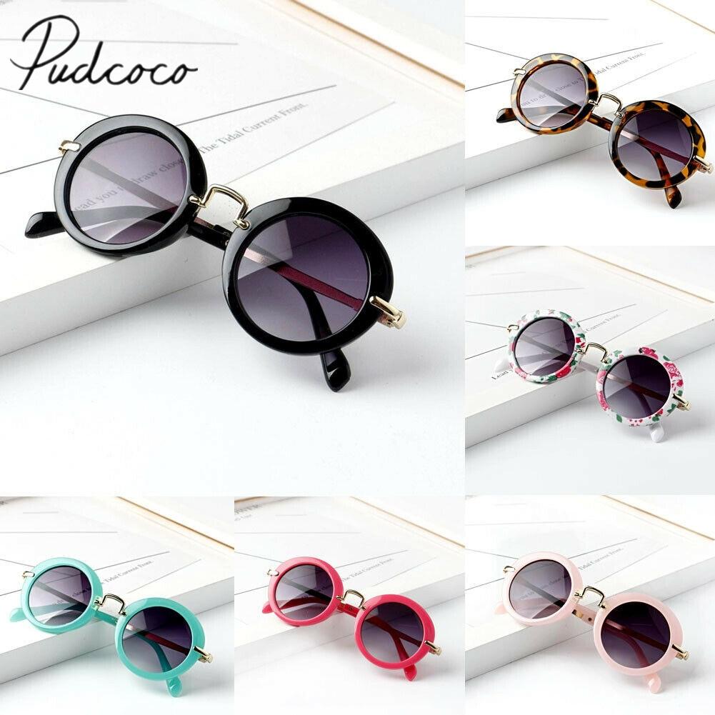 New Stylish Child Kids Boys Girls Children Goggles Retro Anti-UV400 Sunglasses