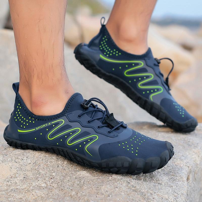 Quick Dry Men Women Swimming Footwear Upstream Water Sports Shoes Elastic Beach Surfing Aqua Shoes Outdoor Nonslip Wading Shoe