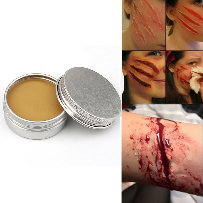 50g Makeup Wax For Special Effects Theatrical Makeup And Halloween Fun Themed Party  Fake Scar Wound Skin Wax