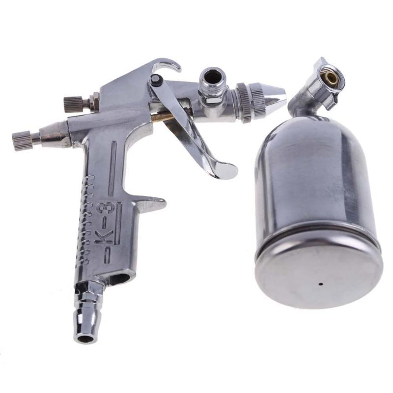 Magic Spray Gun Sprayer Air Brush Alloy Painting Paint Tool 125ml Gravity Feeding Airbrush Penumatic Furniture For Painting Cars