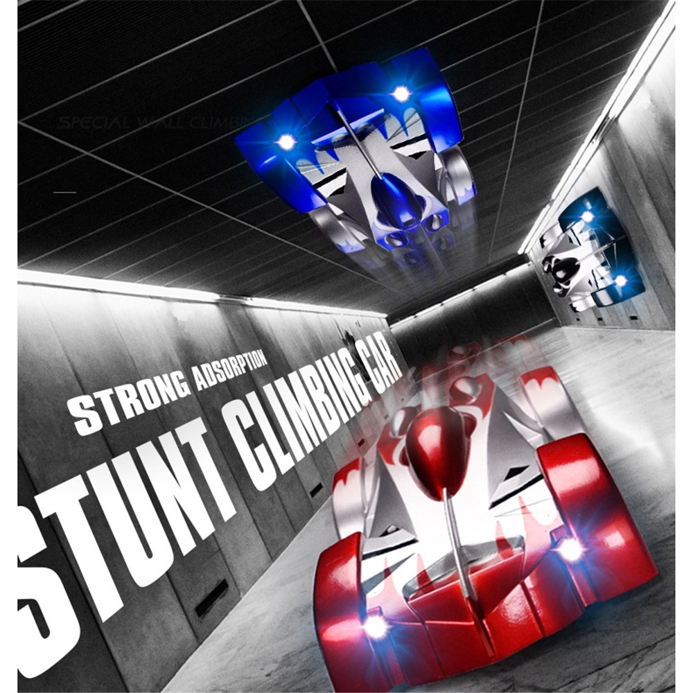Wall Window RC Car Remote Control Ceiling Racing Electric Toy Machine Children Gift Car Remote Control Stunt Car With Lights
