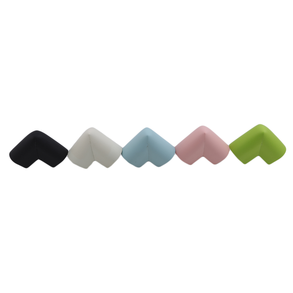 10pcs/pack Child Baby Safety Rubber Protector Table Corner Edge Protection Cover Children Anticollision Edge & Guards