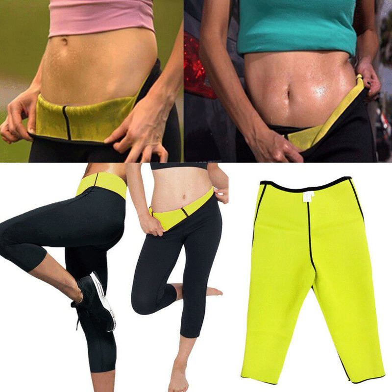 Women Slimming Fit Thermal Hot Short Pants Ladies Neoprene Weight Skinny Slin Flexible Body Shaper Sporty Tranning Gym Shorts