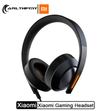 Xiaomi Gaming Headset 7.1 Virtual Surround Headphones 3.5mm With Microphone Noise Cancelling For PC PS4 Laptop Phone philips shp9500 professional headphones with active noise cancelling 3 meter long headset for xiaomi mp3 official test