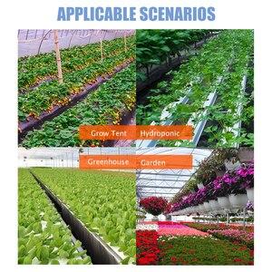 Image 5 - Greenhouse E27 Full Spectrum Plant Grow Led Light 400W Powerful E26 LED Lamp For Seeds Hydro Flower Veg Indoor Garden Phyto Grow