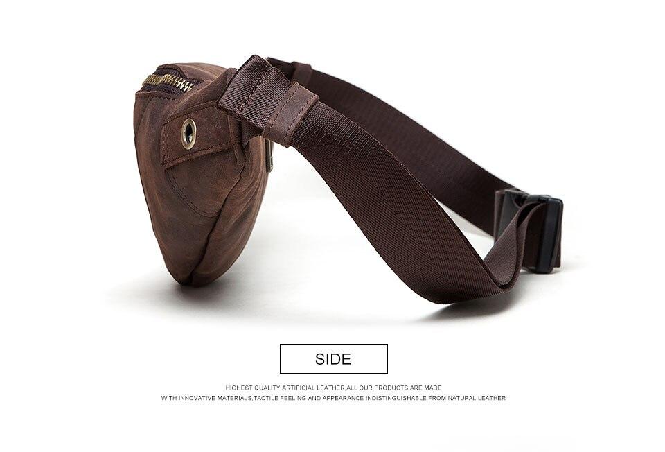 saco da cintura moda crossbody peito fanny