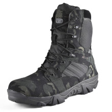 Camouflage Men Boots Work Safty Shoes Men Desert Tactical Military Boots Autumn Winter Special Force Army Ankle Boots Men