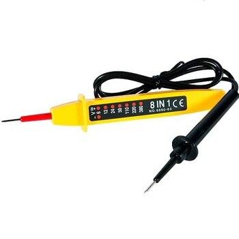 Comprobador tester de circuitos electricos Amarillo