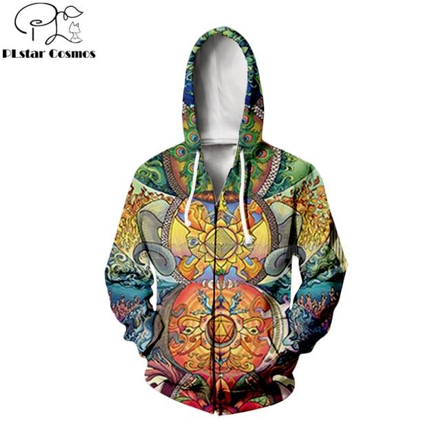 PLstar Cosmos Hippie Mandala Trippy abstrait psychédélique 3d sweats à capuche/sweat-shirt hiver automne manches longues streetwear-20