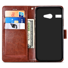 Leather case For Micromax Bolt Juice Q3551 Flip cover housing For Micromax Q 355