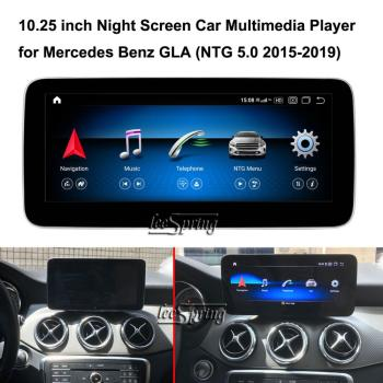 10.25 inch Car Multimedia Player for Mercedes Benz GLA X156 200 (NTG5.0 2015-2019) Car GPS Navigation Android 10.0 image
