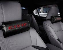 רכב מושב צוואר כרית הגנת עור מפוצל משענת ראש כרית עבור הונדה סיוויק Mugen אקורד אודיסיאה Fit ג אז CRV פילטרים