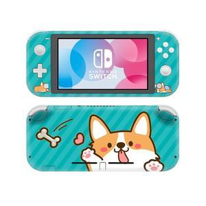 Image 2 - Siberian pies rasy Husky NintendoSwitch skórka naklejka naklejka pokrywa dla Nintendo przełącznik Lite Protector przełącznik do Nintendo Lite skórka naklejka