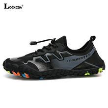 مرونة سريعة الجافة حذاء للسير مسافات طويلة الرجال احذية نسائية تسلق الرحلات أحذية رياضية عدم الانزلاق الانزلاق على الشاطئ أحذية مقاومة للانزلاق للجنسين أحذية رياضية