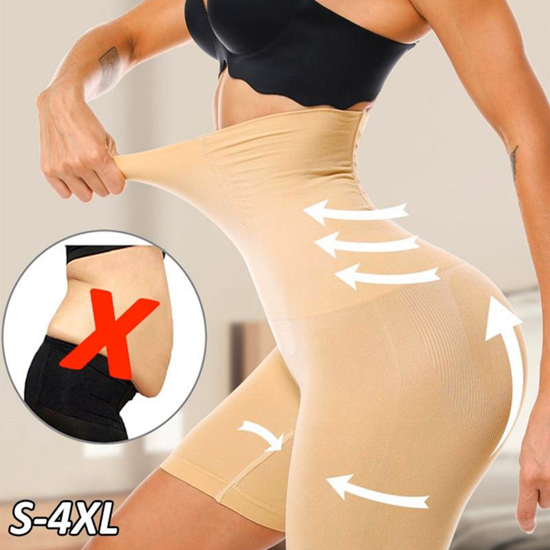 High Waist Breathable Flat Angle Belly Pants Corset Hip Body Corset Body Shaping Underwear