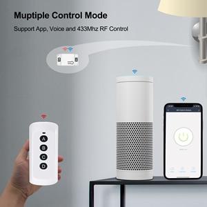 Image 3 - Interrupteur intelligent Wifi RF, minuteur vocal, télécommande, Module domotique, avec Alexa, application Tuya Smart Life
