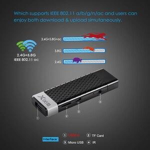 Image 4 - X96S TV Stick 4GB 32GB Amlogic S905Y2 Android 9.0 TV Box X96S Mini PC 5G WiFi Bluetooth 4.2 4K HD 1080P TV Dongle Media Player
