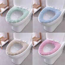 Ванная комната туалет сидение для унитаза моющиеся мягкие зимние