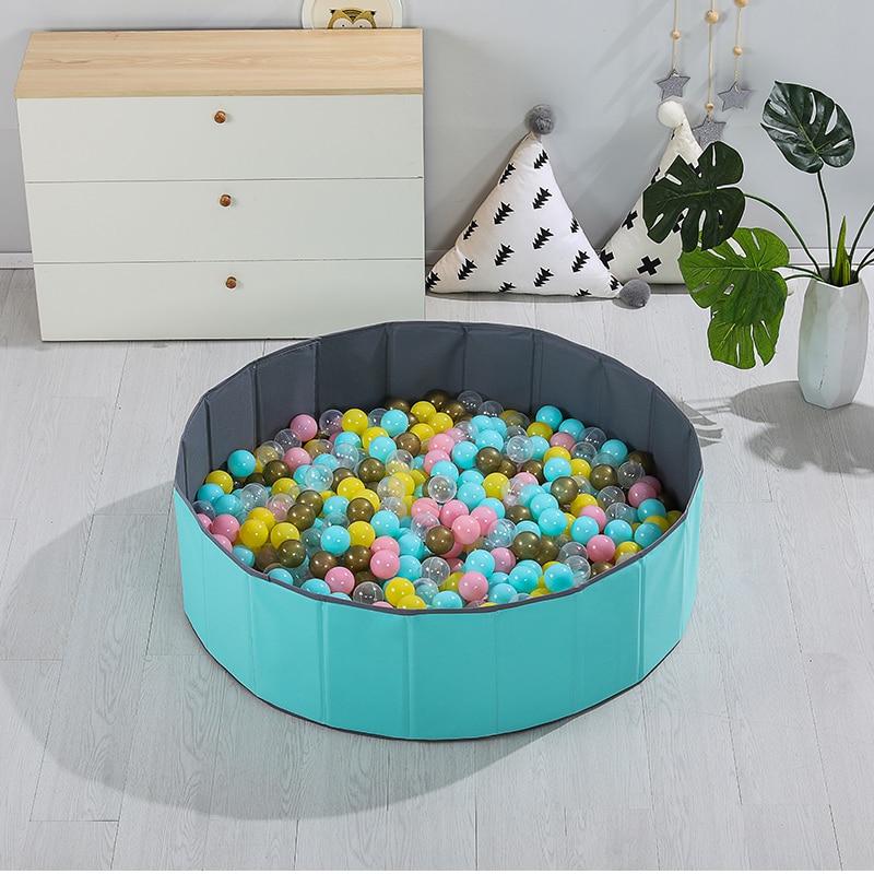 INS детский манеж, детский бассейн с океанскими шариками, складной детский манеж, мягкий круглый цветной шар, ямы, украшение для детской комна...