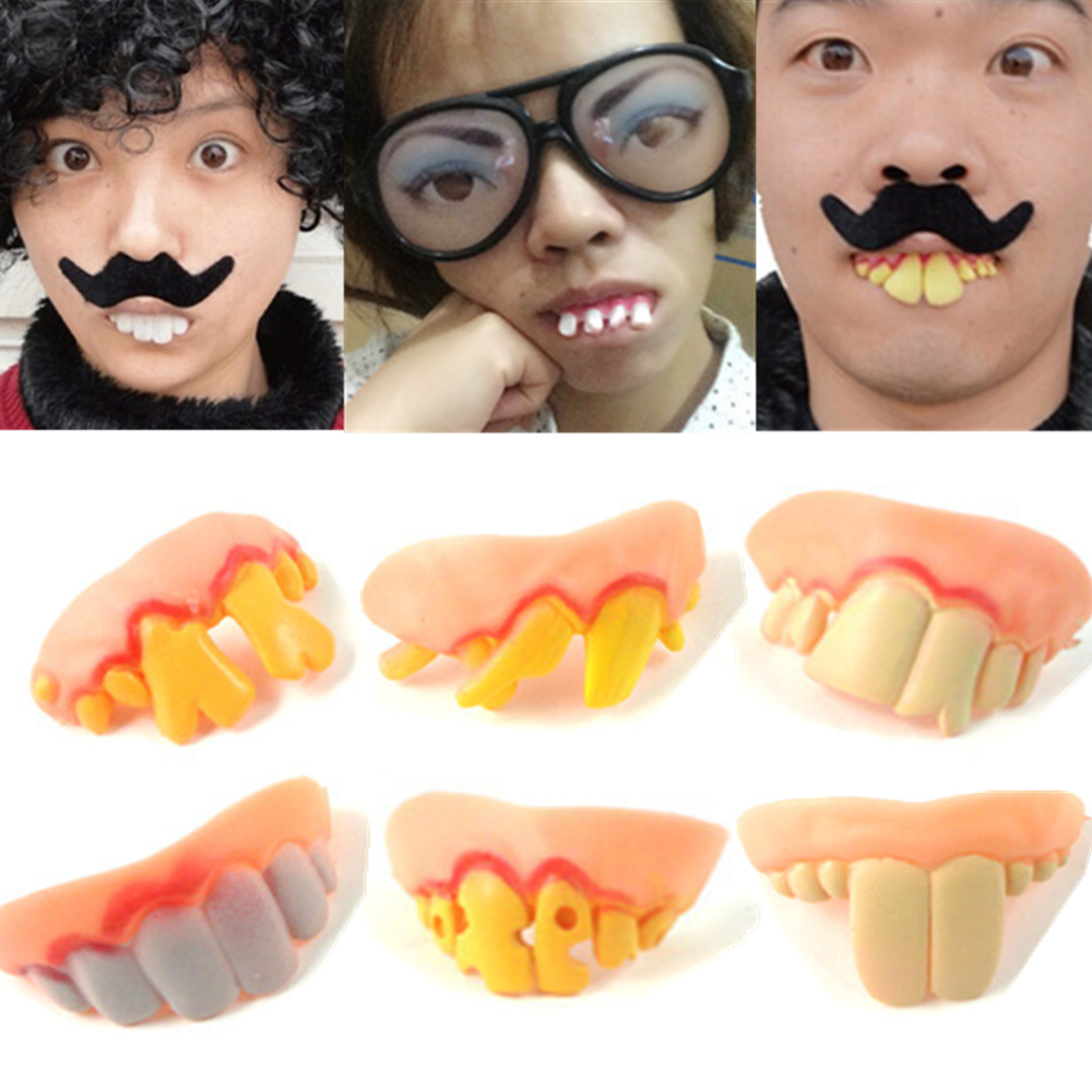 Halloween Funny Faked Teeth Makeup Party Masquerade Prop