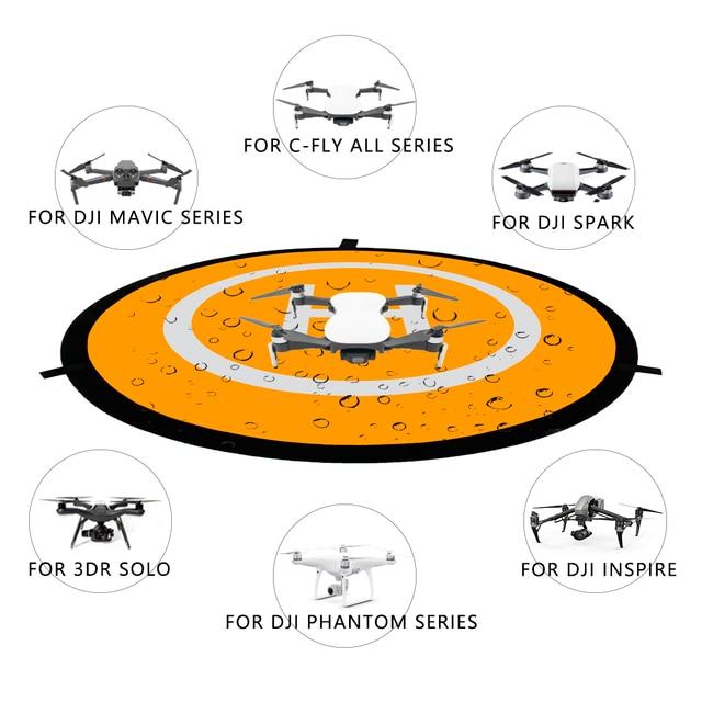Landing Pads 55cm 75cm 110cm Drone Landing Pads for RC Quadcopters DJI MAVIC MINI PRO SPARK PHANTOM INSPIRE Drone Accessories 1