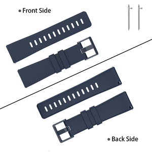 Image 2 - Duszake Band For Fitbit Versa/ Versa Lite/ Versa 2 Silicone Adjustable Replacement Classic Fitness Strap For Fitbit Versa 2 Band
