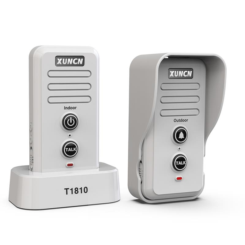 XUNCN Wireless Voice Intercom Doorbell for Family House Office Intercom System-1810 More than 1000 Meters Over a Long Distance