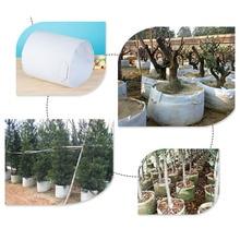 5 Размер сад нетканый белый Овощной выращивание картофеля мешок Ткань Дерево посадки цилиндр мешок/горшки с ручками