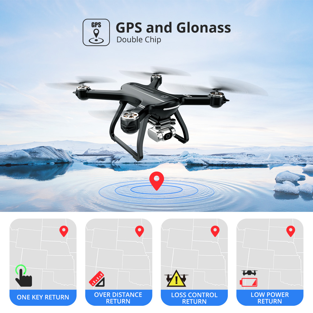 Holy Stone HS700D GPS 5G Drone with 2K Dron Full HD Drone GPS Brushless 1km 1000M 800M WIFI Profesional Com Camera Quadcopter
