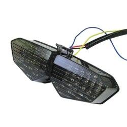 Dym zintegrowane światło tylne led kierunkowskazy dla Yamaha Yzf R6 03 05 04 Yzf R6S 06 08 na