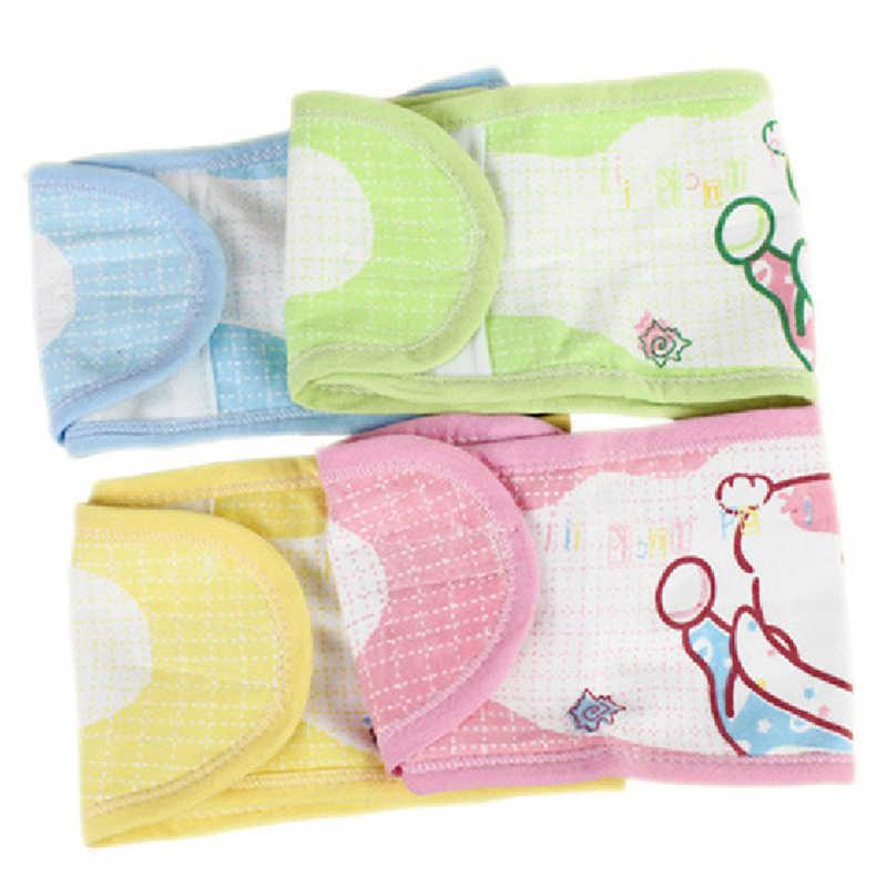 Regulowany noworodek Bellyband bawełna ciepły dziecko brzuch przycisk Protector Band miękki pępek straż obwód pas Baby Care